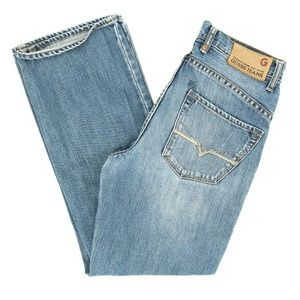 Guess Jeans Straight Embroidered Mid Rise 12 26X26